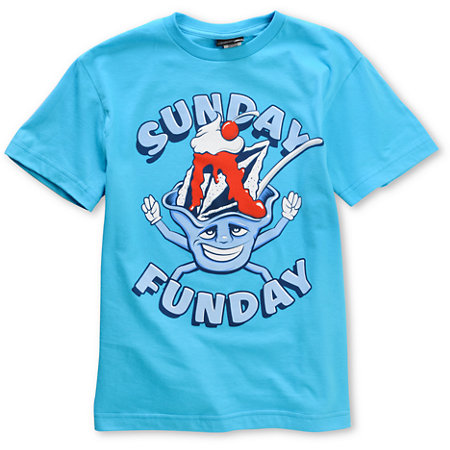 Volcom boys sunday funday teal t shirt at zumiez pdp for Boys teal t shirt
