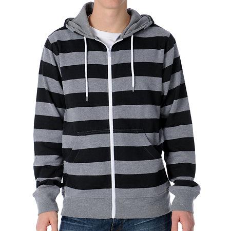 Jan 20, · Black and gray striped hoodie? does anybody know wher i can find a black and gray striped hoodie (horizontal)? black and white, dark gray and light gray, gray Status: Resolved.