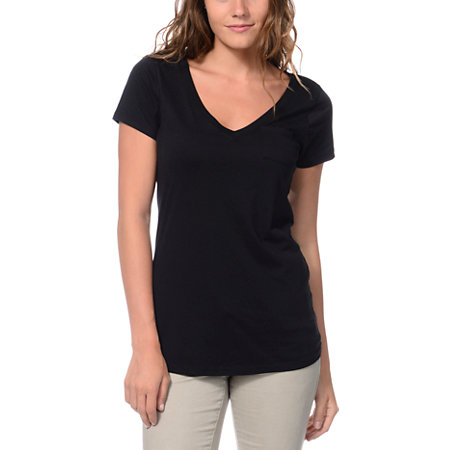 Apr 24, · The V-neck cut-out short sleeved black tee has a black lace accent at the neckline and destruction details all over. It's so fashionable with just a pair of skinnies and booties/5(2).