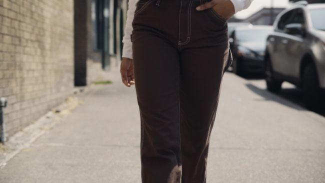 ea7939b636 Dickies pantalones marrones estilo carpintero