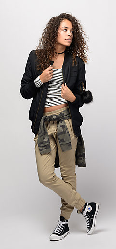 Outfits 1 Huf Coaches Jacket And Tie Dye Tee With Black Skinny Jeans