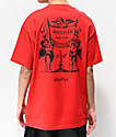4Hunnid Angels Red T-Shirt