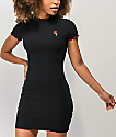 A-Lab Lexi Rose Black Dress