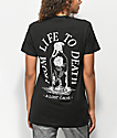 A Lost Cause Death camiseta negra