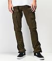 American Stitch pantalones de utilidad de color oliva