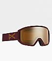 Anon Relapse MFI gafas de snowboard en granate y bronce
