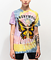 Anonymous Butterfly camiseta tie dye