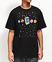 Artist Collective Juice Box Galaxy camiseta negra