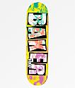 """Baker Nuge Ink Drops 8.0"""" Skateboard Deck"""