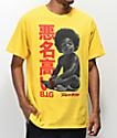 Biggie Baby Kanji camiseta amarilla