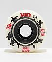 Bones ATF Roughriders 59mm ruedas blancas de skate