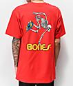 Bones Powell Peralta Skeleton camiseta roja