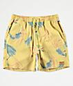 Brixton Havana shorts de baño amarillos