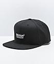 Brixton Palmer II gorra negra