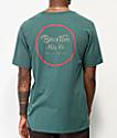 Brixton Wheeler II camiseta esmeralda