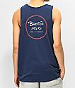 Brixton Wheeler camiseta sin mangas azul marino