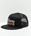 Brixton x Coors Primary II Black Trucker Hat