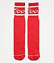 Brixton x Coors Signature calcetines rojos