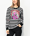 Broken Promises Die For Nothing Stripe Grey Long Sleeve T-Shirt