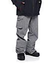 Burton Covert Bog Heather Grey Snowboard Pants