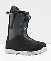 Burton Moto Boa botas de snowboard grises y rojas