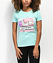 By Samii Ryan Leave Me Alone camiseta menta