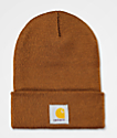 Carhartt Watch Brown Beanie