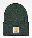 Carhartt Watch Hunter gorro verde y negro
