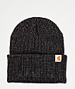 Carhartt Woodside Coal Grey Beanie