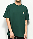 Carhartt Workwear Hunter Green Pocket T-Shirt