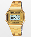 Casio Vintage All Gold Digital Watch