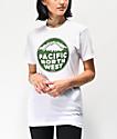 Casual Industrees PNW Patina camiseta blanca y verde