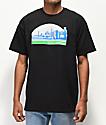 Casual Industrees Sodo Skyline camiseta negra
