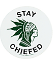 Casual Industrees Stay Chiefed Sticker