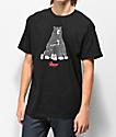 Casual Industrees x Rainier Bear camiseta negra