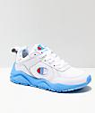 Champion 93 Eighteen Big C zapatos con suela azul