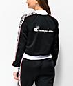 Champion Black & White Taping Track Jacket