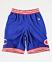 Champion Blue Mesh Basketball Shorts