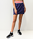 Champion Blue Ribbed Mini Skirt