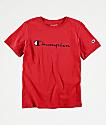 Champion Boys Heritage Red T-Shirt