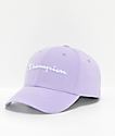Champion Classic Twill Pale Violet Rose Strapback Hat