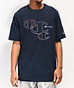 Champion Embroidered C Outline camiseta azul marino