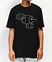 Champion Embroidered C Outline camiseta negra