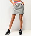 Champion Grey Ribbed Mini Skirt
