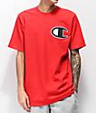 Champion Heritage Big C Red T-Shirt