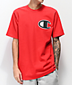 Champion Heritage Big C camiseta roja