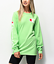 Champion Heritage Green Long Sleeve T-Shirt