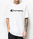 Champion Heritage camiseta blanca bordada