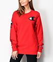 Champion Heritage camiseta roja de manga larga