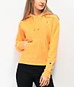 Champion Logo C sudadera con capucha amarilla